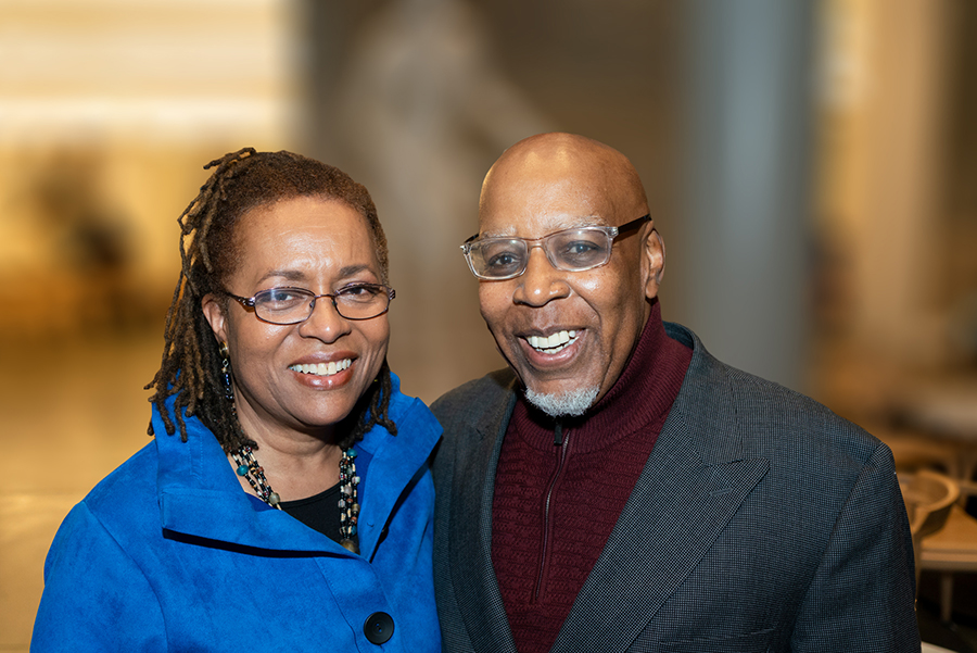 Reuben A. Munday '69, MPS '74, and Cheryl Casselberry Munday