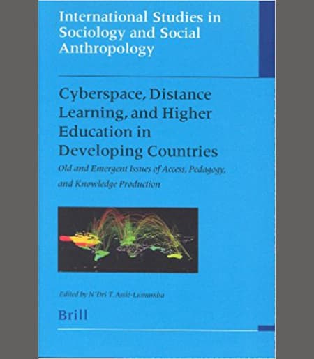 Cyberspace, Distance Learning, and Higher Education in Developing Countries Book Cover