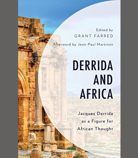 "Book Cover ""Derrida and Africa"""