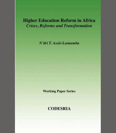 Higher Education Reform in Africa Book Cover
