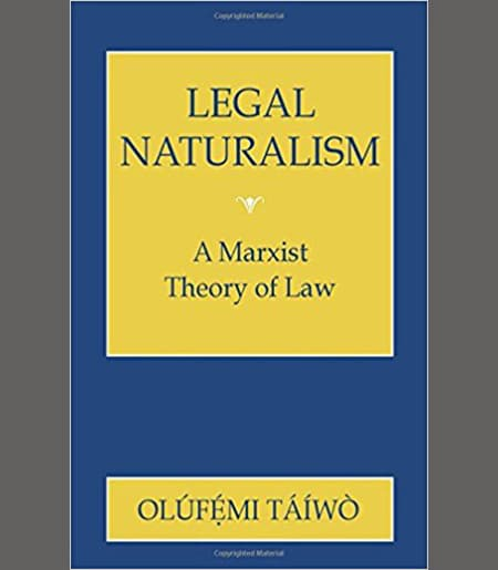 Legal Naturalism - A Marxist Theory of Law Book Cover