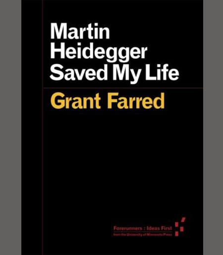 Martin Heidegger Saved My Life Book Cover