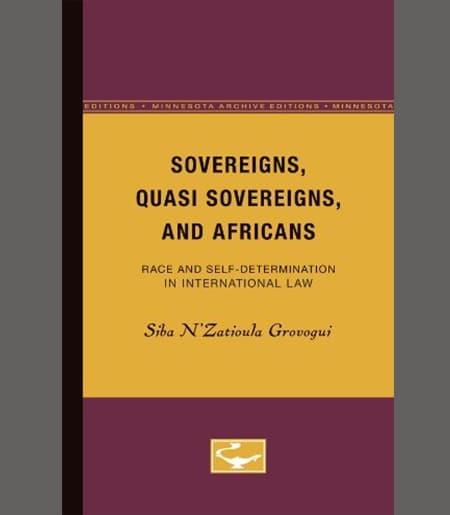 Sovereigns, Quasi Sovereigns, and Africans Book Cover