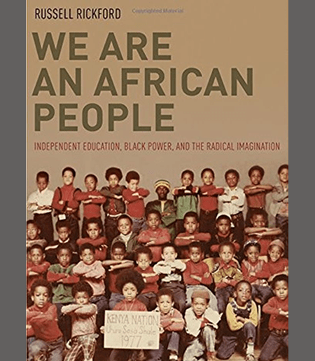 We Are an African People Book Cover