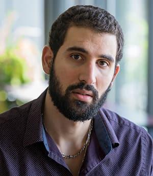 Graduate student Zeyad el Nabolsy
